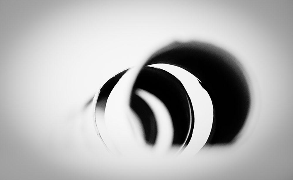 abstracte foto van wc-rolletjes